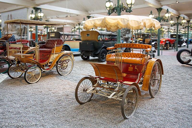 Автомузей; Национальный музей автомобилей, Мюлуз (Mulhouse), Франция; Benz, Phaëton type Vélo, 1896
